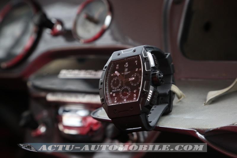 Montre Blackout Concept Pilot P-01 Chrono Concept