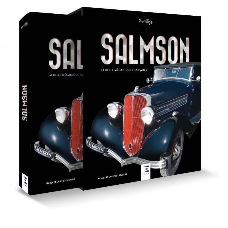Livre: Salmson, la belle mécanique française