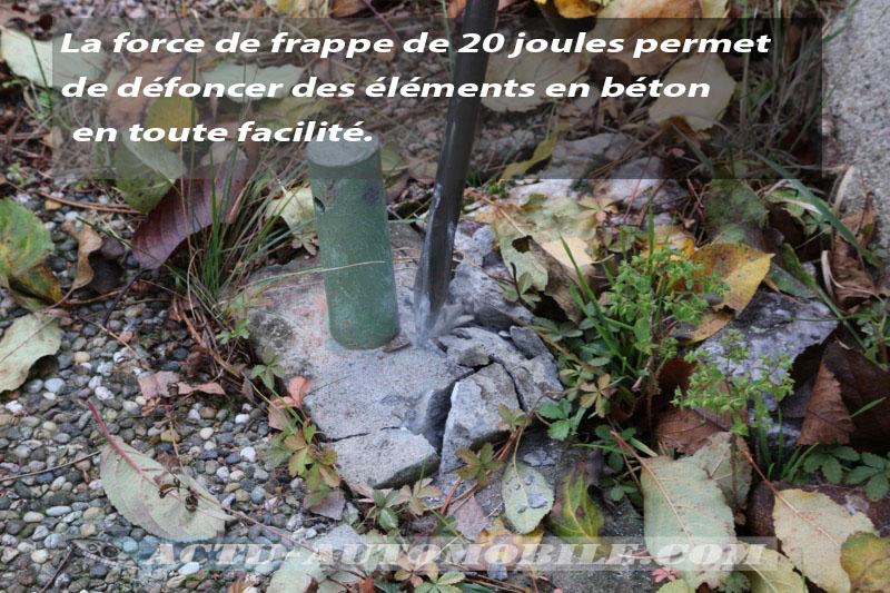 Test burineur AEG PM10E