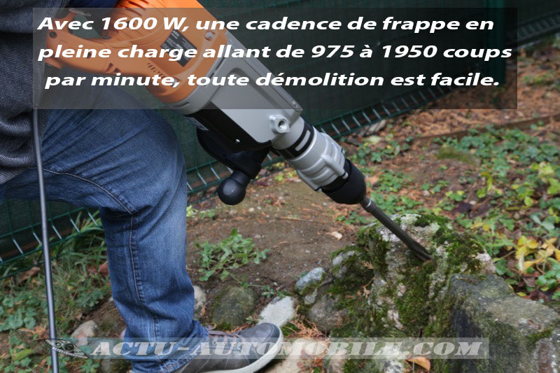 Test burineur AEG PM10E