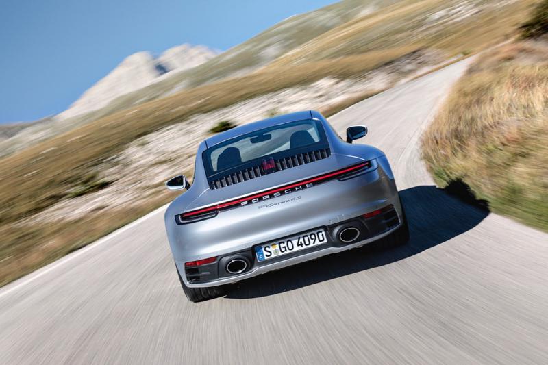 Nouvelle Porsche 911 : le type 992 arrive