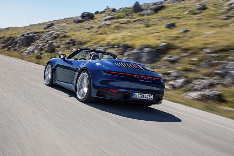 Nouvelle Porsche 911 Cabriolet