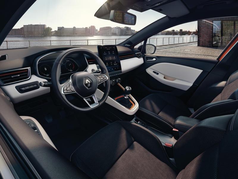 L'intérieur de la nouvelle Renault Clio 5 dévoilé