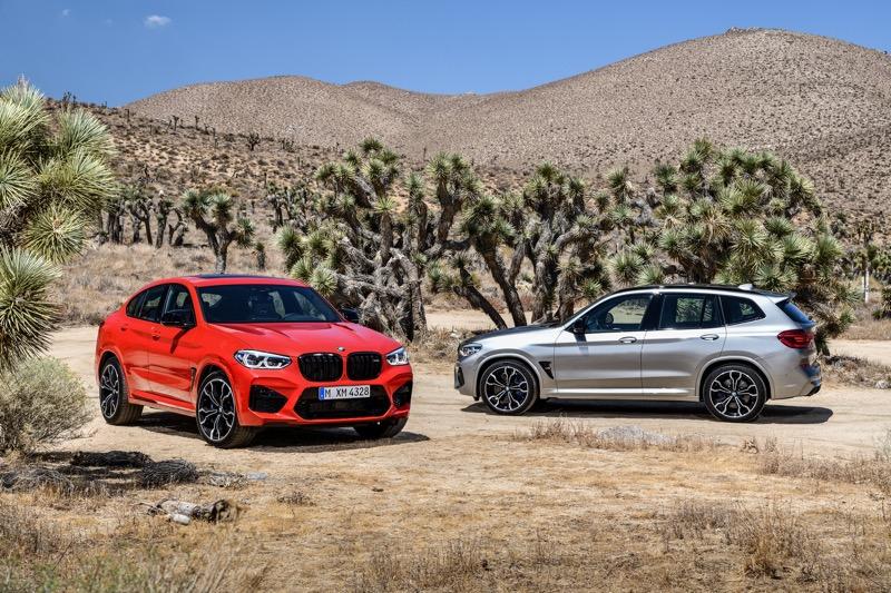 BMW X3 M et X4 M