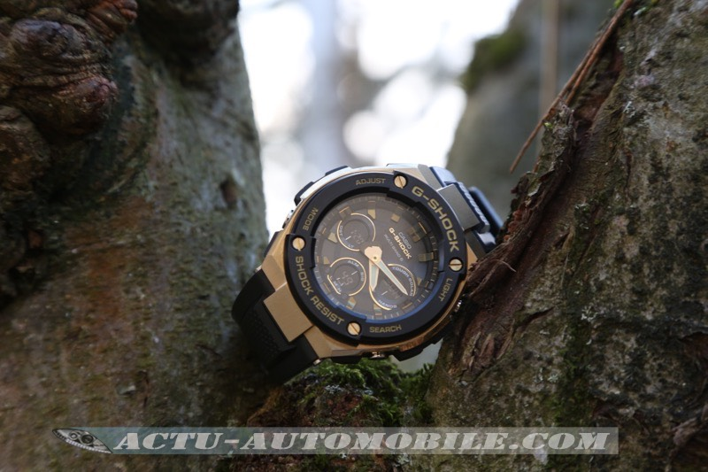 Montre Casio G-Shock G-Steel