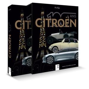 Livre : Citroën 100 ans, coffret prestige