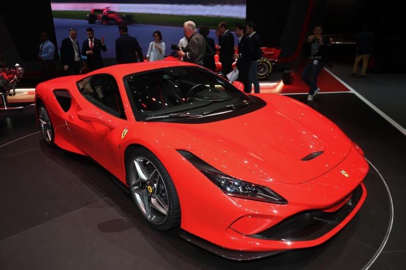 Genève 2019 : Ferrari F8 Tributo