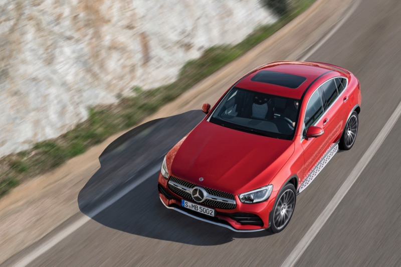 Nouveau Mercedes GLC Coupé