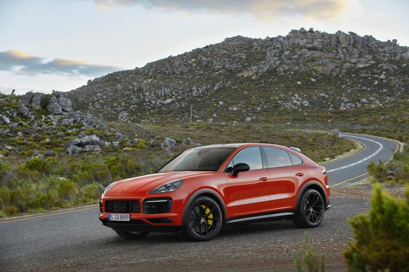 Nouvelle Porsche Cayenne Coupé