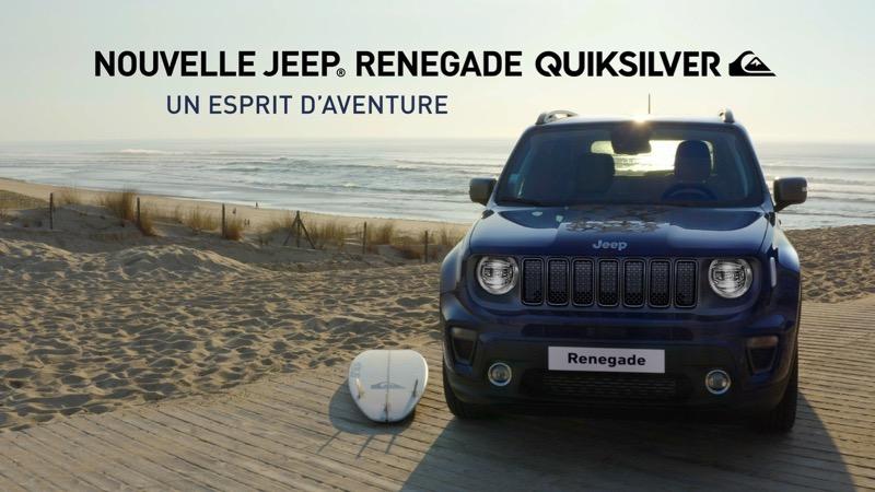 Nouvelle Jeep Renegade Quiksilver Edition