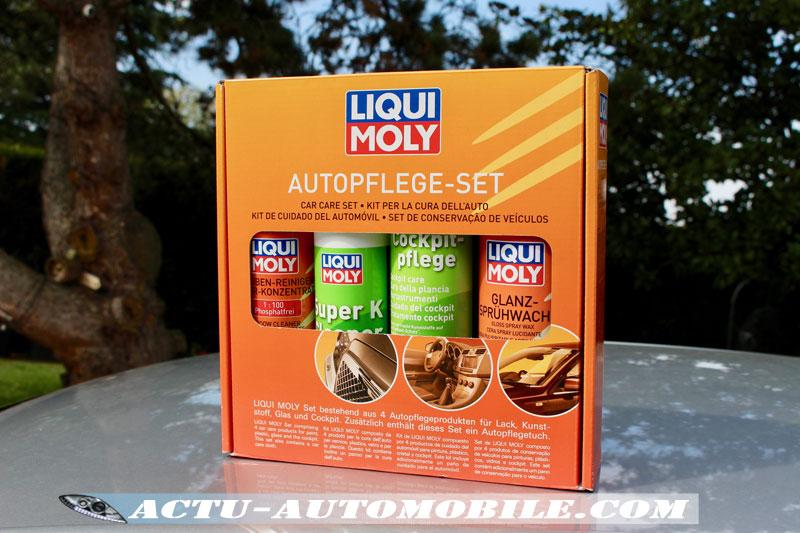 Set d'entretien du véhicule Luiqi Moly