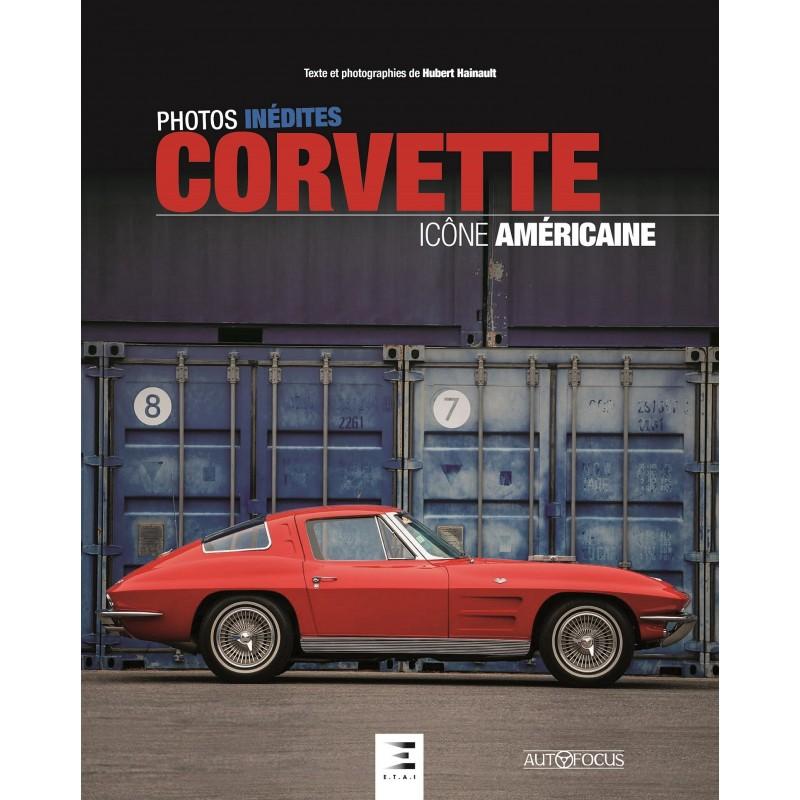 Livre : Corvette, icône américaine de Hubert Hainault