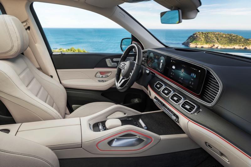 Nouveau Mercedes GLS