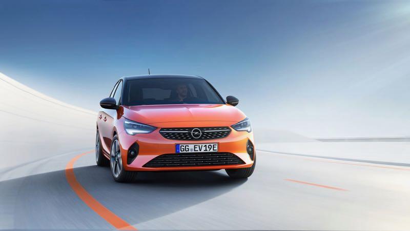 nouvelle Opel Corsa e électrique