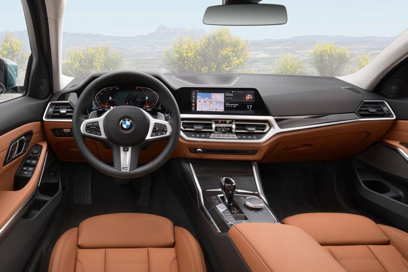 Planche de bord Nouvelle BMW Série 3 Touring