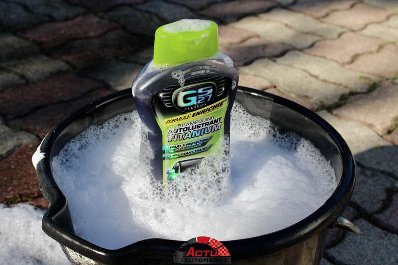 Shampooing Autolustrant Titatinum GS27
