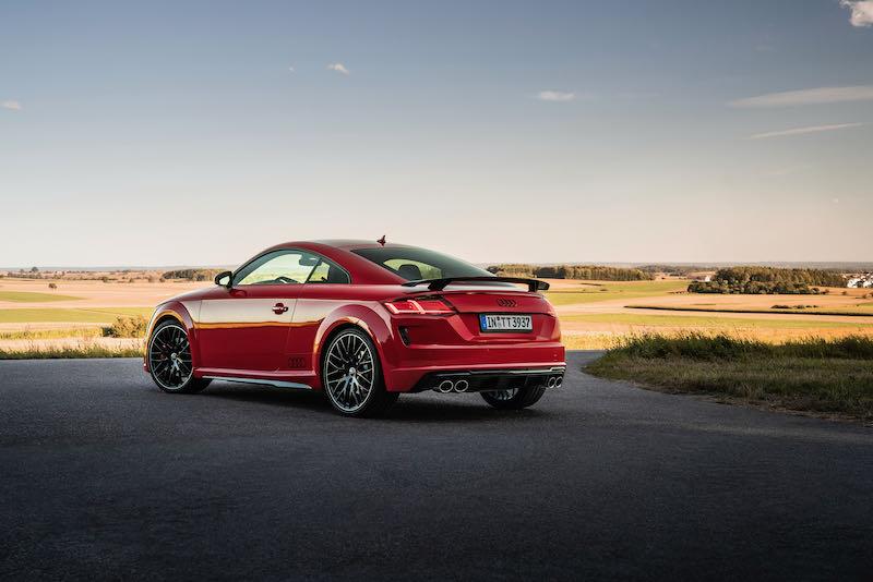 Audi TT Compétition Plus et Héritage