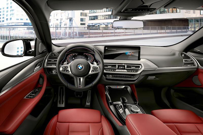 La planche de bord du nouveau BMW X4