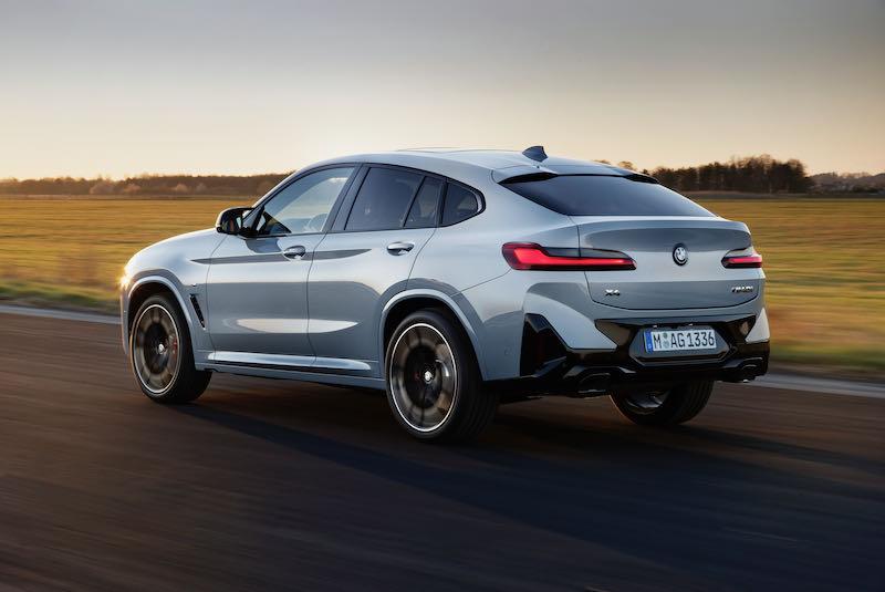 L'arrière revu du nouveau BMW X4