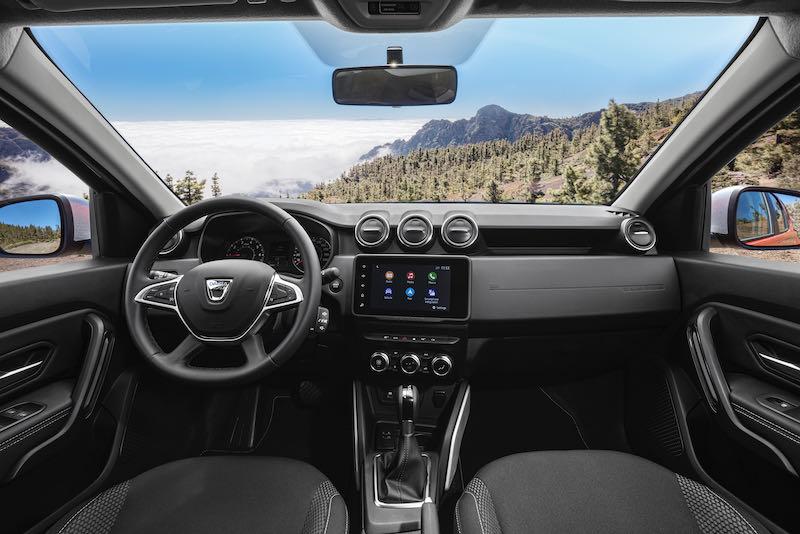 L'intérieur du Dacia Duster 2021