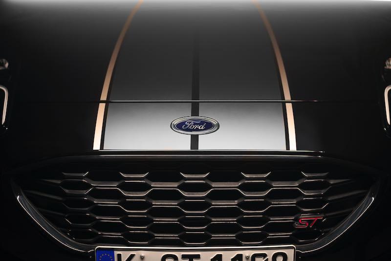 Bandes décoratives du Ford Puma ST Gold Edition