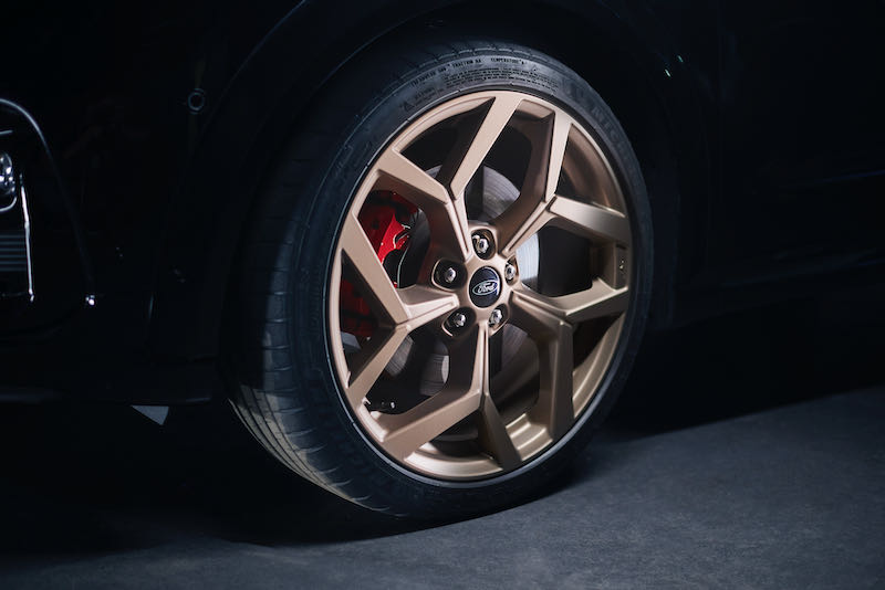 Jantes alliage de la Ford Puma ST Gold Edition