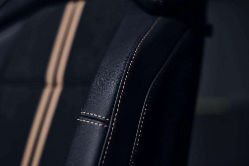 Détail intérieur du Ford Puma ST Gold Edition