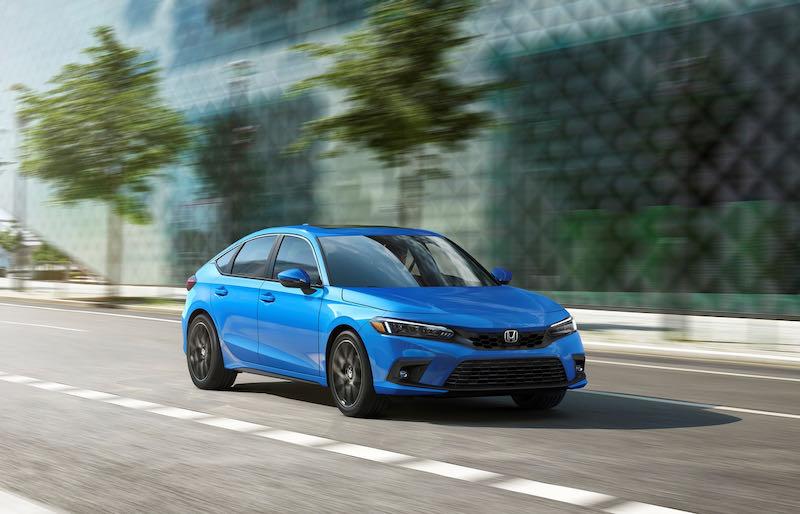 Nouvelle Honda Civic 5 portes 2021