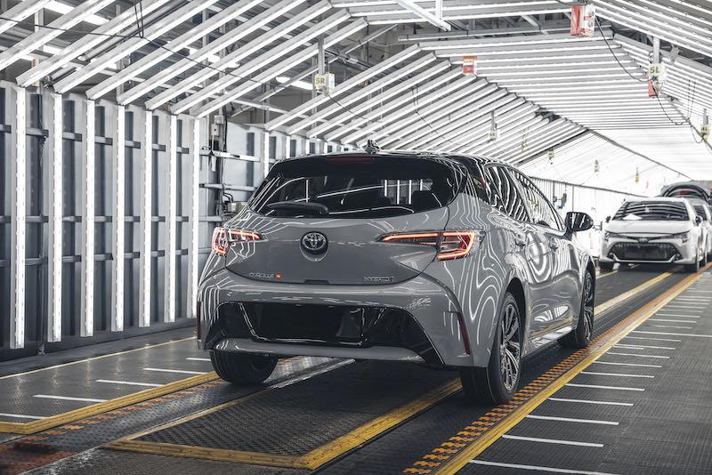 La série limitée Corolla JBL ne sera proposée qu'en 500 exemplaires
