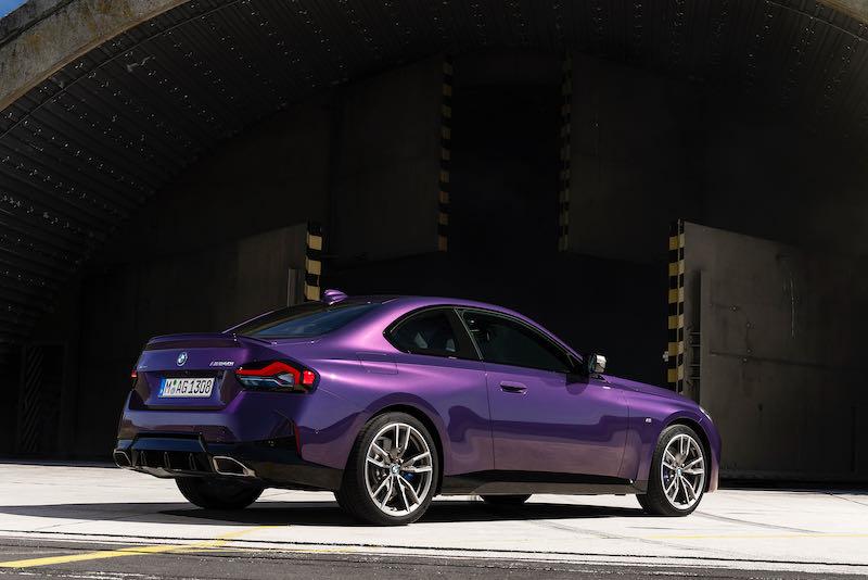 La nouvelle Série 2 Coupé dans une teinte violette inédite