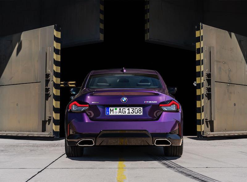 L'arrière se démarque de toutes les autres BMW