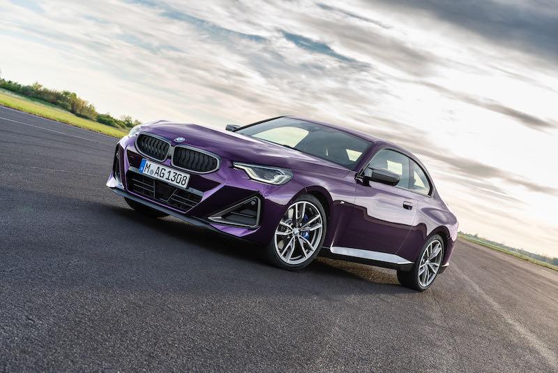 BMW renouvelle sa Série 2 Coupé en 2022