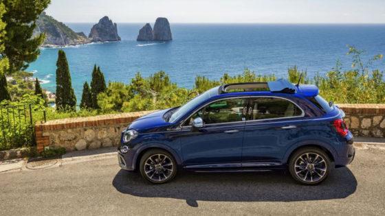 Fiat 500X Yachting ''Yacht Club Capri''