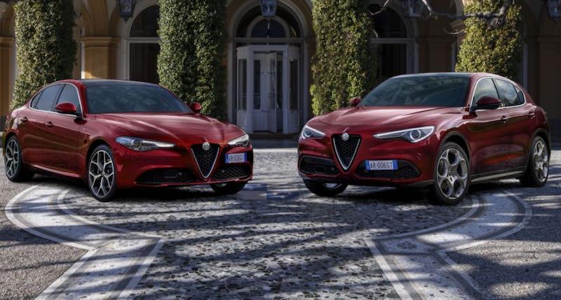 """Alfa Romeo Giulia et Stelvio """"6C Villa d'Este"""""""