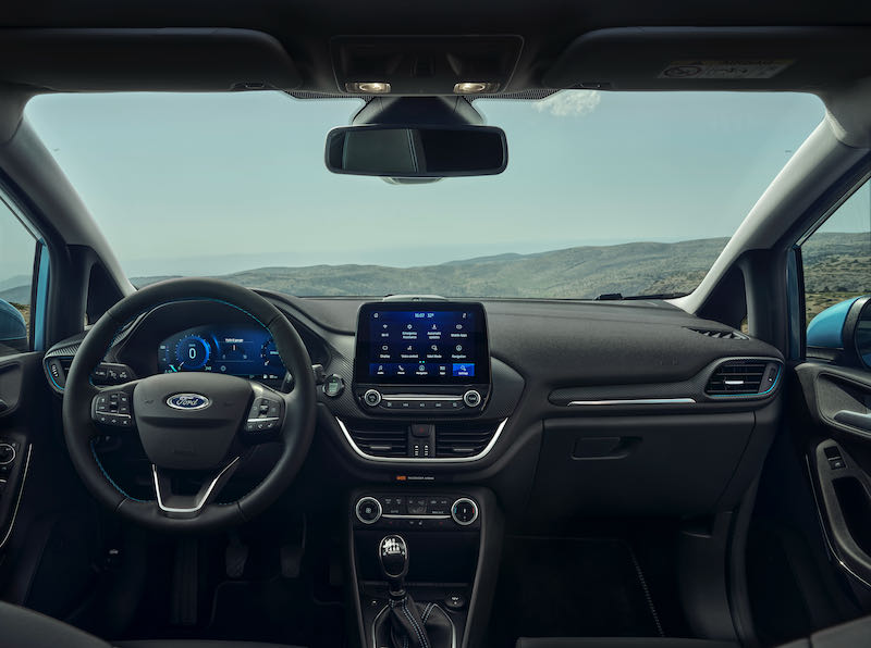 Ford Fiesta restylée