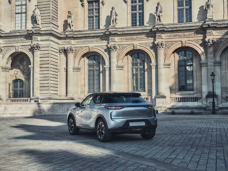 DS 3 Crossback Louvre